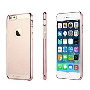 Fashionable TOTU PC Hard Case for iPhone 6 Plus Phone Cover ,Color: Silver