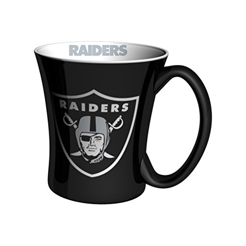 NFL Oakland Raiders Espresso Mug, 3-ounce, (Oakland Raiders Nfl Coffee)