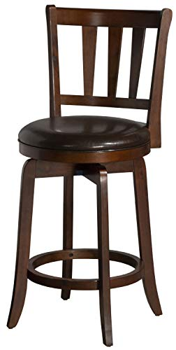 - Hillsdale Furniture 4478-827 Hillsdale Presque Isle Swivel Counter Stool, Height, Cherry