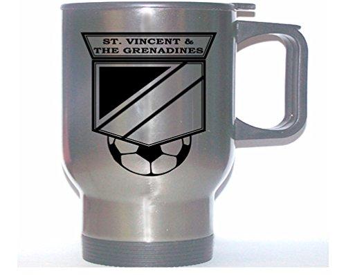 Grenadines Mug (St. Vincent and the Grenadines National Team Soccer Stainless Steel Mug)