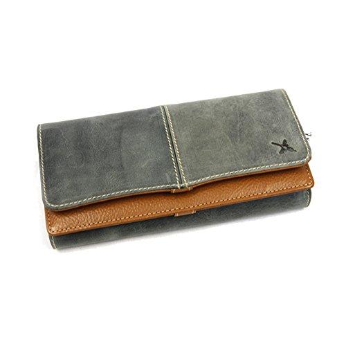 503929eaa88d Amazon   Ain Soph(アインソフ)DA499-HP 長財布 (ブルー)   レディースバッグ・財布