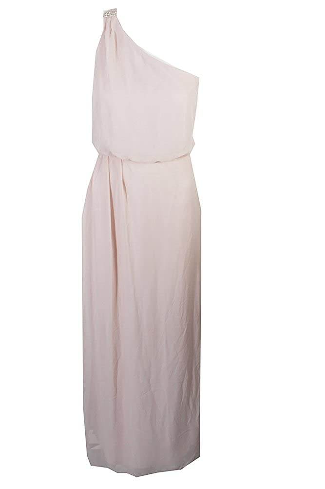 8d49790ed1 Top1  Adrianna Papell Womens Chiffon Embellished Evening Dress Pink 4