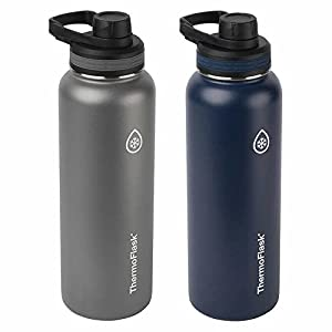 Takeya ThermoFlask 2 Pack (Navy blue/Gray)