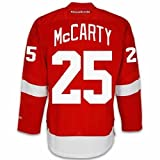 Darren McCarty Detroit Red Wings Home Jersey by Reebok, Small - SEWN TACKLE TWILL NAME/NUMBER