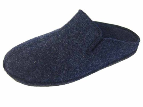 Microfleece 9 Coolers Pantofole Navy Uk Mens Twin Gusset Plain HAgOx6