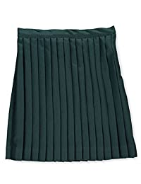 Cookie's Brand Big Girls' Plus Size Pleated Skirt - Green, 14.5