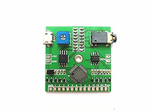 10ボタン トリガー MP3プレーヤーボード 3Wアンプとはんだパッド付き   B071Z2DK99