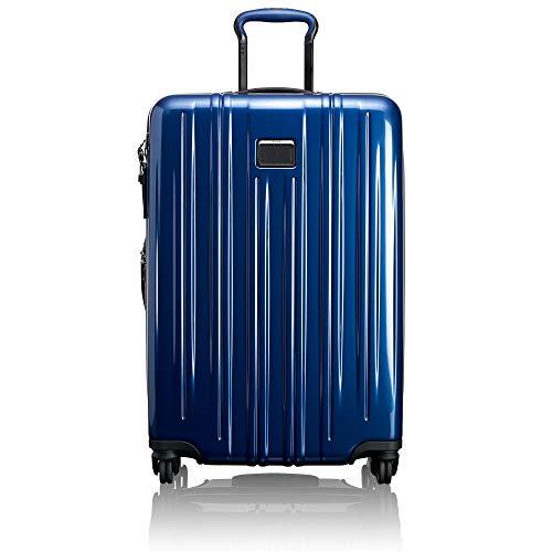 TUMI V3 Short Trip Expandable Packing Case Suitcase - Medium Hardside Luggage - Deep Blue