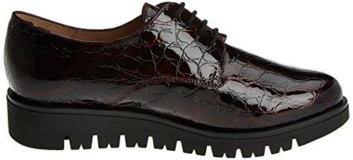 Mujer Morado Derby Cordones de PieSanto 175701 Zapatos Burdeos para IxwqUZY0