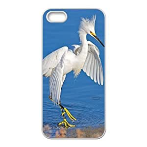 White Egret Unique Design Case for Iphone 5,5S, New Fashion White Egret Case