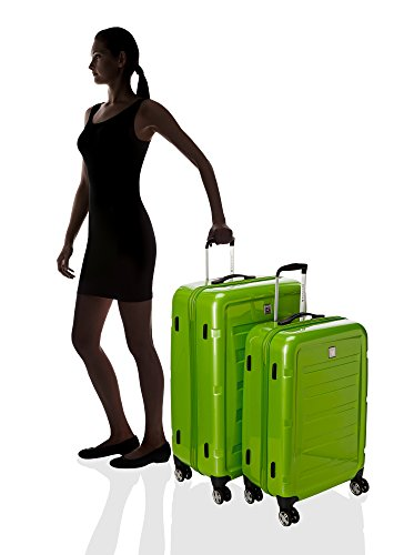 Roncato Set 2 Trolley G+M 4R Passenger Lime