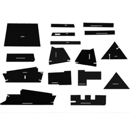 Cab Foam Kit with Headliner & Post Kit Allis Chalmers 7040 7080 7030 7020 7060 7045 7050 7000 7010 (Post Headliner)