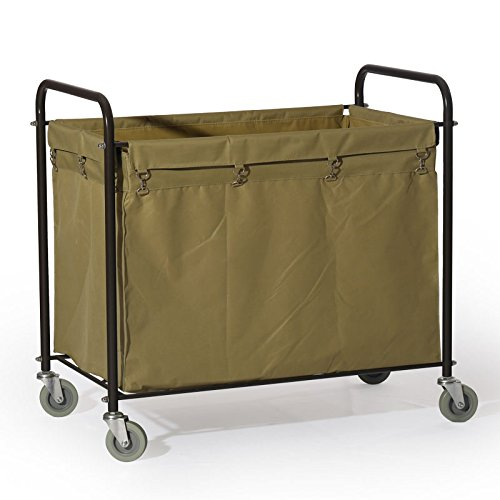 Commercial Laundry Cart, H 37.6'' x W 21.8'' x L 35.8'' by Farag Janitorial (Image #9)