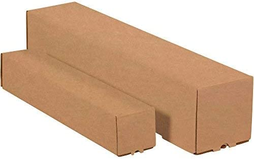 Top Pack Supply Square Mailing Tubes 3 x 3 x 30 Kraft (Pack of 25) [並行輸入品]
