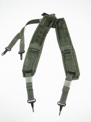 US Military Official Army Combat Load Bearing Suspenders LC-2 ()