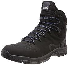Jack Wolfskin Altiplano Prime Texapore, Zapatos de High Rise Senderismo para Hombre, Gris (Phantom 6350), 42.5 EU