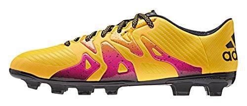 adidas X 15.3 Hg, Botas de Fútbol para Hombre Naranja / Negro / Rosa (Dorsol / Negbas / Rosimp)