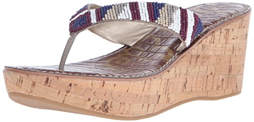 Multi Femme Edelman Oxide Rosa Mules Sam Bright Beads Mehrfarbig Multicolore White tdYqzYxwWT