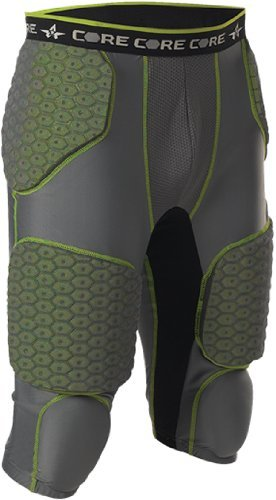 Alleson Athletic Men's Integrated 7 Padded Football Girdle