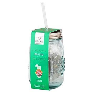 Juego de 12 bolsas de té verde con sabor MOJITO: Amazon.es ...