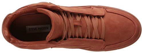 Steve Madden Men's Defstar Fashion Sneaker Rust Nubuck pay with paypal online discount footaction lmpc6SBb9y