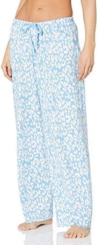 Hue Women/'s Printed Pajama Lounge Pants Off White NWT