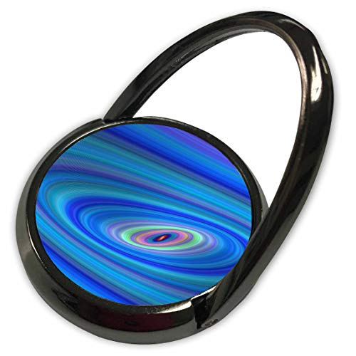 3dRose David Zydd - Colorful Abstract Designs - Blue Space - abstract ellipse graphic - Phone Ring (phr_289087_1) ()