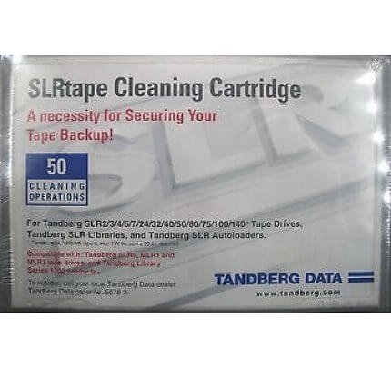 TANDBERG, SLR/MLR, Cleaning Cartridge Dry process, 50 Pass, SLR/MLR, SLR/MLR CLEANING CARTRIDGE