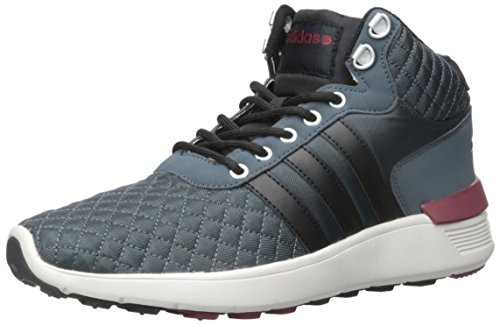 clearance store cheap online adidas Neo Men's Lite Racer Mid Lace-up Shoe Lead/Bold Onix/Collegiate Burgundy fashion Style footlocker finishline cheap price release dates online tZvJpcv