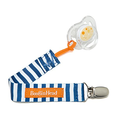BooginHead PaciGrip Pacifier Holder Nautical