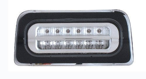 CHEVY S-10 / G.M.C SONOMA 94-04 LED 3RD BRAKE LIGHT ALL CHROME NEW