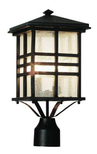 Bel Air Lighting Aluminum Outdoor Post With Lanterns