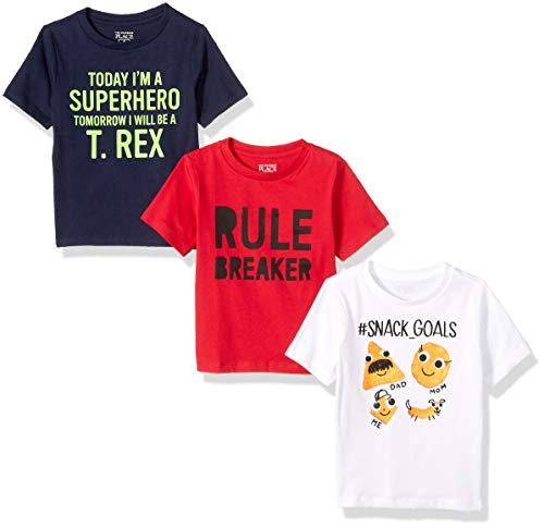 The Childrens Place Baby Boys Short Sleeve Graphic Tees