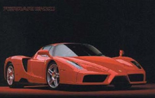 - Scandecor Ferrari Enzo Luxury Racing Mid Engine Sports Car Poster 36x24 Inch
