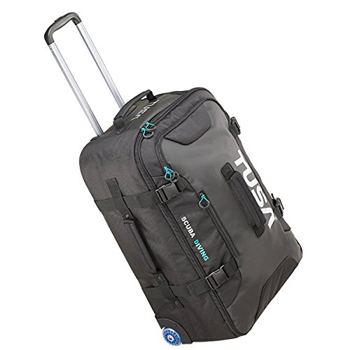 Tusa Medium Roller Bag with Telescoping Handle and Compression Straps 81 Liter Capacity