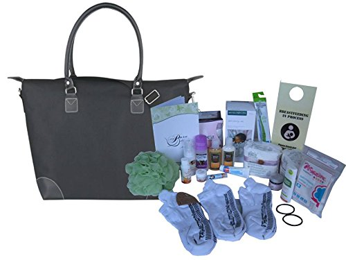 C-section Essentials Prepacked Hospital Labor Bag by My Pure Delivery