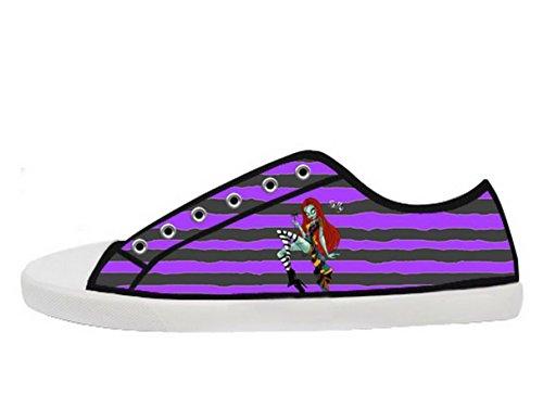 The Nightmare Before Christmas Logo Ladys Halkfria Tygskor Tnbc Canvas Shoes18