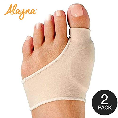 Bunion Corrector and Bunion Relief Sleeve with Gel