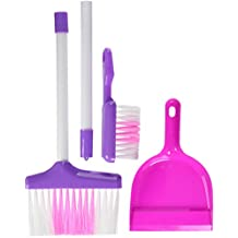 High quality cleaning play set from Little Treasures - Complete with broom, hand-broom and dustpan -play set for children over 3 and up