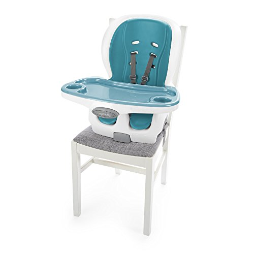 Ingenuity SmartClean 3-in-1 – Peacock Chair, Toddler Chair, Booster