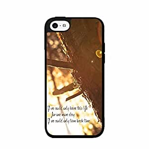 If We Could Only TPU RUBBER SILICONE Phone Case Back Cover iPhone 5 5s