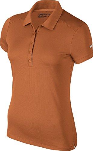 Polo Arancione Da Donna Asciutto Vittoria Nike