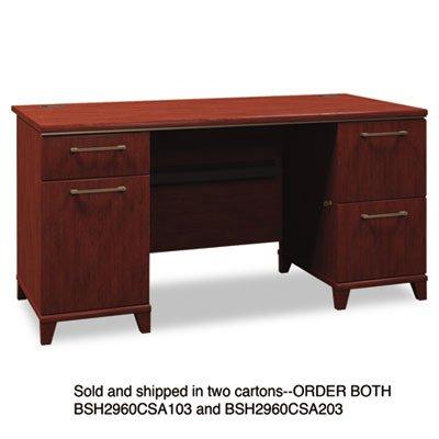 BSH2960CSA203 - Bush 60amp;quot; W Double Ped Desk B/D (Double Ped Table)