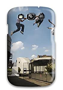 david jalil castro's Shop 4635528K94401518 Hard Plastic Galaxy S3 Case Back Cover,hot Parkour Cute Case At Perfect Diy