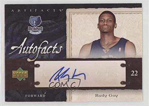 - Rudy Gay (Basketball Card) 2007-08 Upper Deck Artifacts - Autofacts Autographs - [Autographed] #AF-RG
