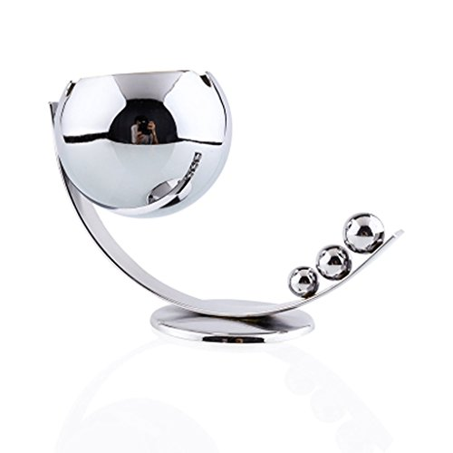 Fashionable Stainless Ashtray Metal Ash Tray Holder Home Dec