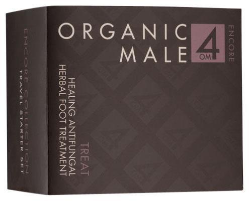Organic Male OM4 Travel Starter Healing Herbal Antifungal Foot Treatment - 1 oz