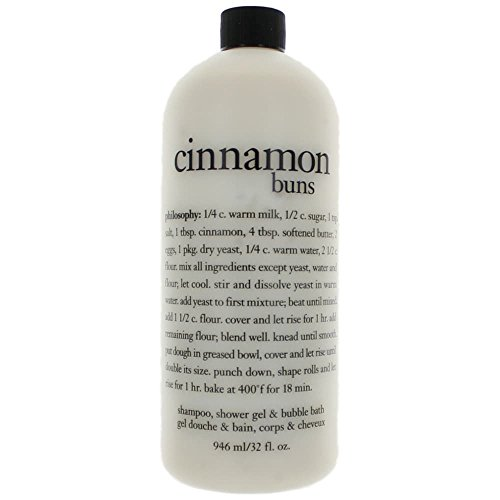 Philosophy Shampoo Shower Gel & Bubble Bath,Cinnamon Buns, 32 Ounce Review