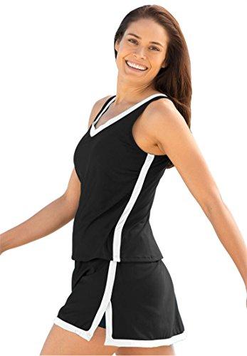 64bda2b732 Swim 365 Women's Plus Size Swimsuit, 2-Piece Skirtini (B004I765VY) | Amazon  price tracker / tracking, Amazon price history charts, Amazon price  watches, ...