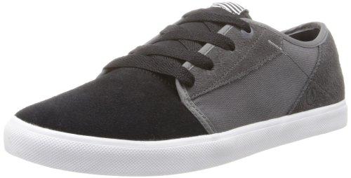 Volcom Men's Grimm Low Top Sneaker,Black/Grey,6 M US